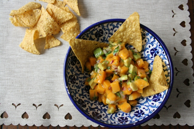 Mango Salsa | Rivka's Kitchen